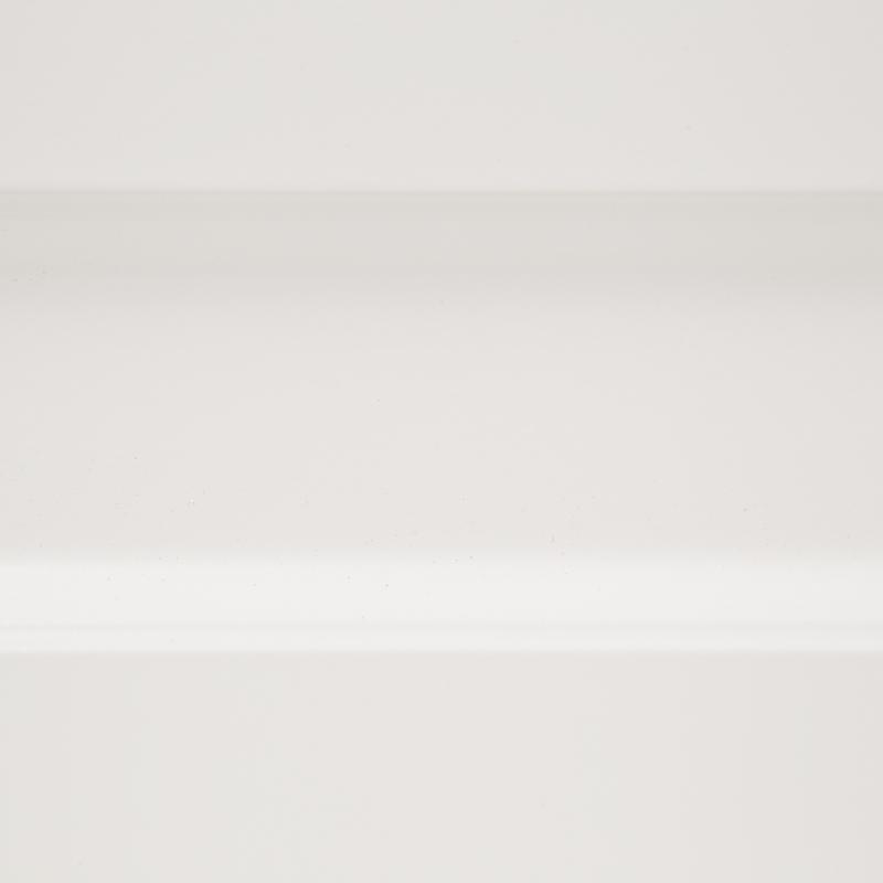 Дверь для шкафа Delinia «Леда белая» 30x92 см, МДФ, цвет белый
