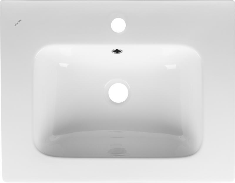 Раковина «Эйфория» 60 см, эмалированная керамика
