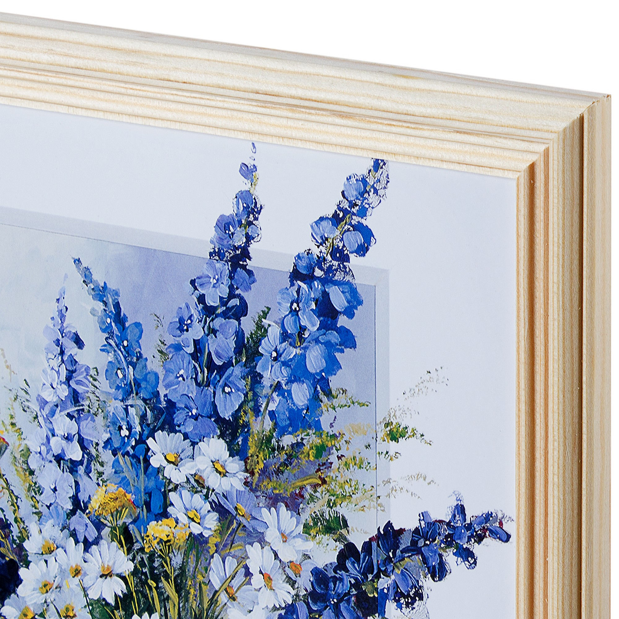 Постер в раме 20х25 см «Цветы в вазе»