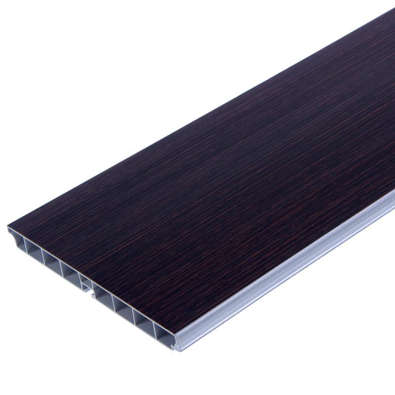 Цоколь 300x15 см ПВХ цвет венге