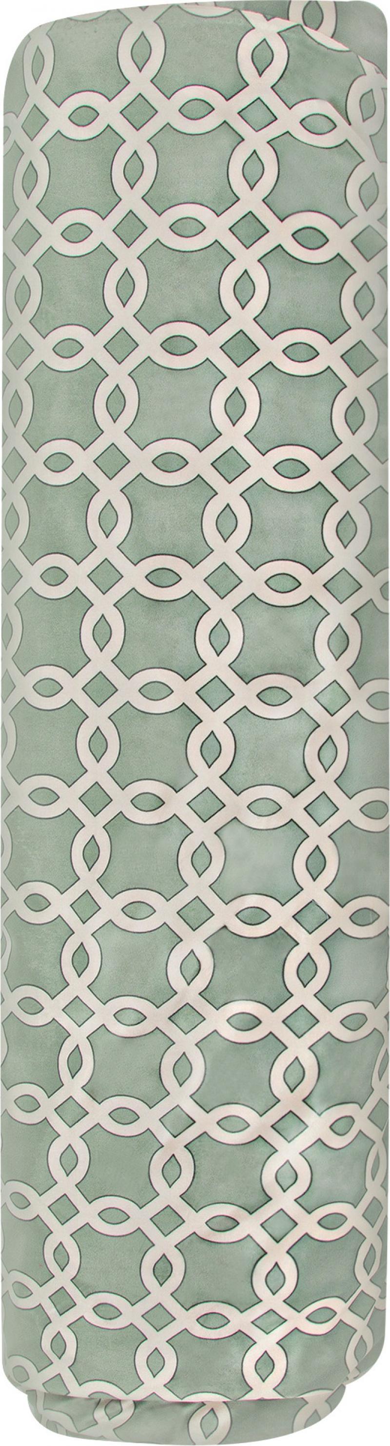 Ткань 1 п/м, велюр, 280 см, цвет зелёный