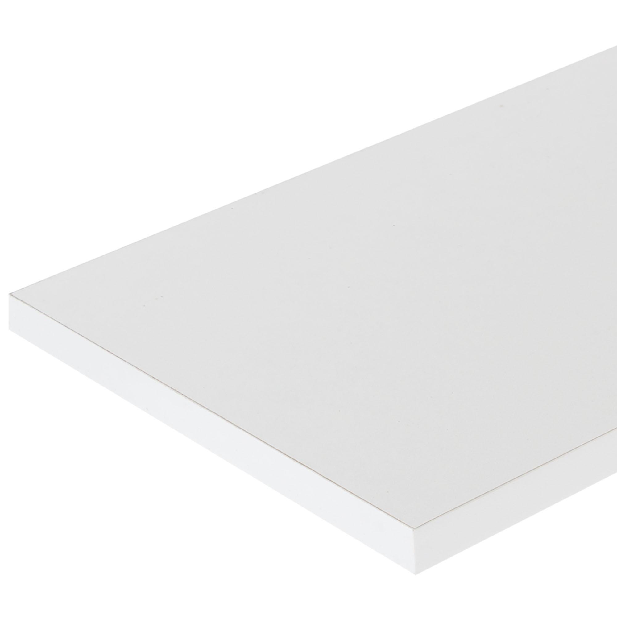 Деталь мебельная 2700х100х16 мм ЛДСП цвет белый