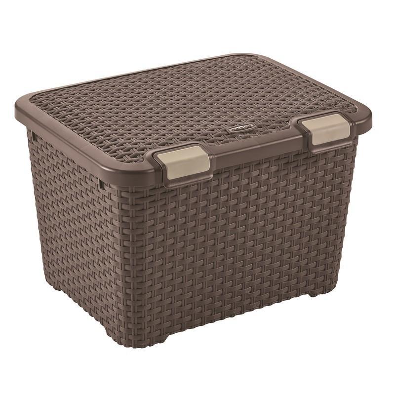 Ящик Curver Style 43 темно-коричневый