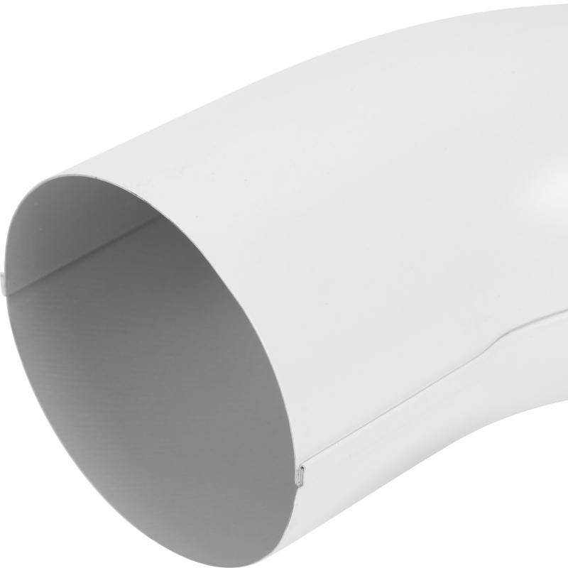 Отвод выходной цвет белый