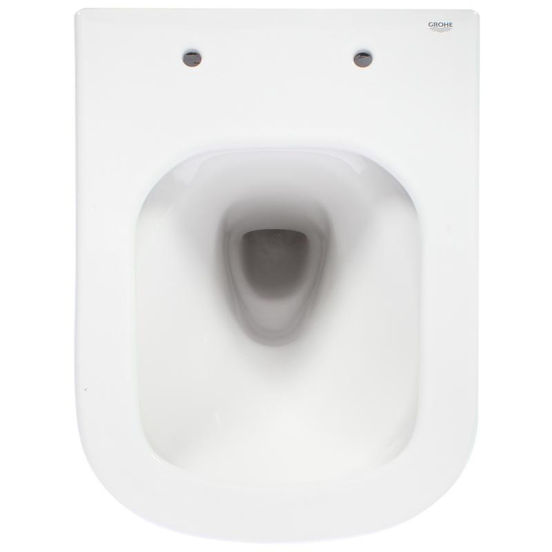 Унитаз подвесной Euro Ceramic 39206000 безободковый