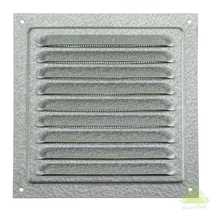 Решетки вентиляционная металлическая 150с цинк