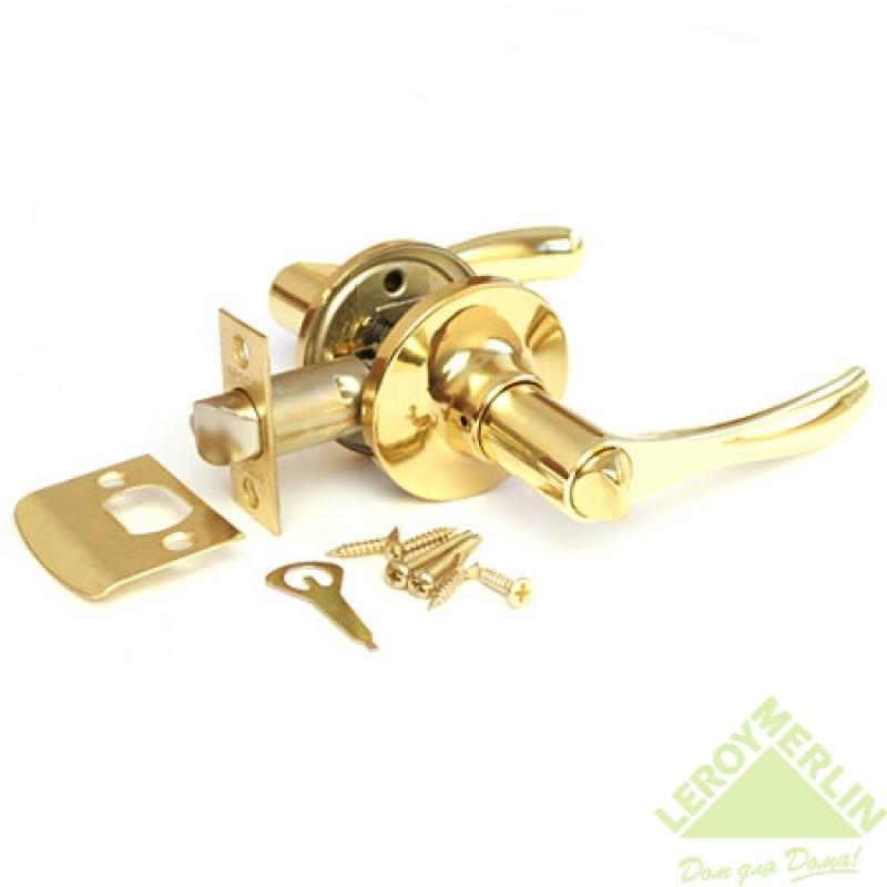 Ручка-защёлка межкомнатная Apecs 8010-03-G (золото)