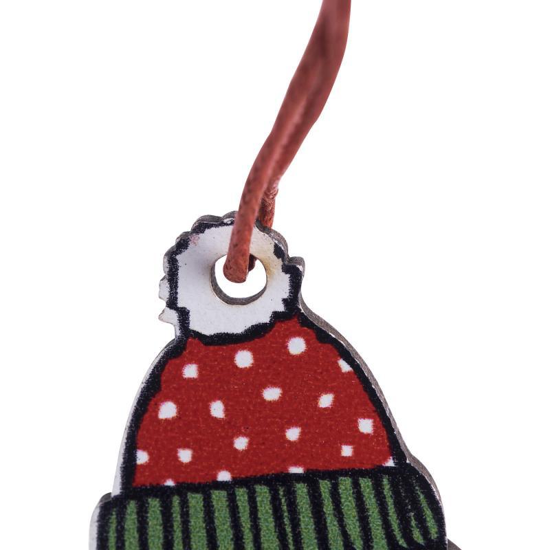 Набор ёлочных украшений «Весёлого Рождества», 15.5 см, 2 шт.