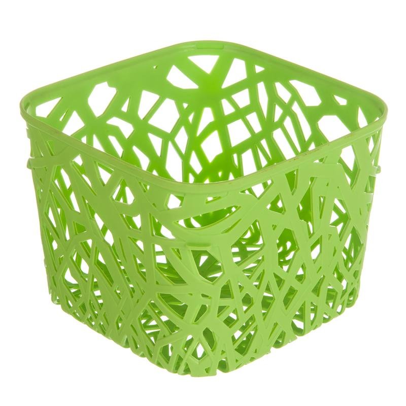 Корзинка Curver Neo квадратная пластик цвет зеленый