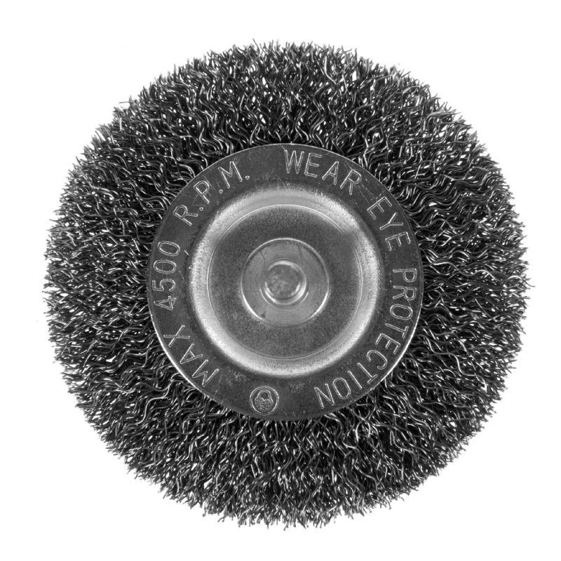 Щетка для дрели дисковая Dexter 75 мм металлическая