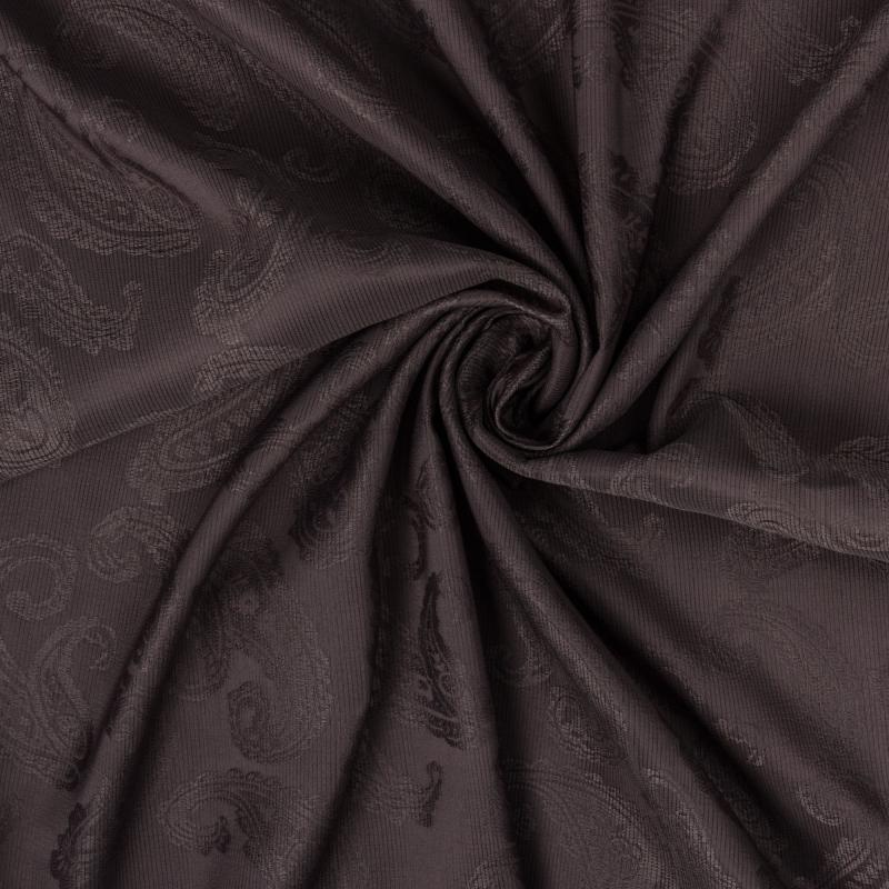 Ткань 1 п/м «Софи», жаккард, 280 см, цвет коричневый