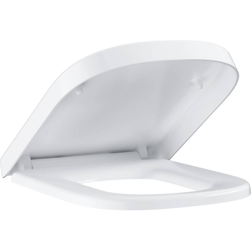 Сиденье для унитаза Euro Ceramic 39330001 дюропласт, микролифт, цвет белый