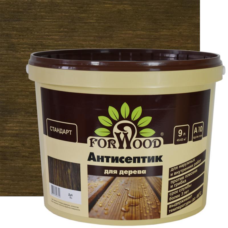 Антисептик Forwood цвет дуб 9 л