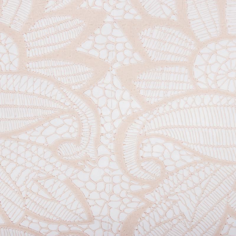 Скатерть «Ажурная» 140х120 см цвет бежевый