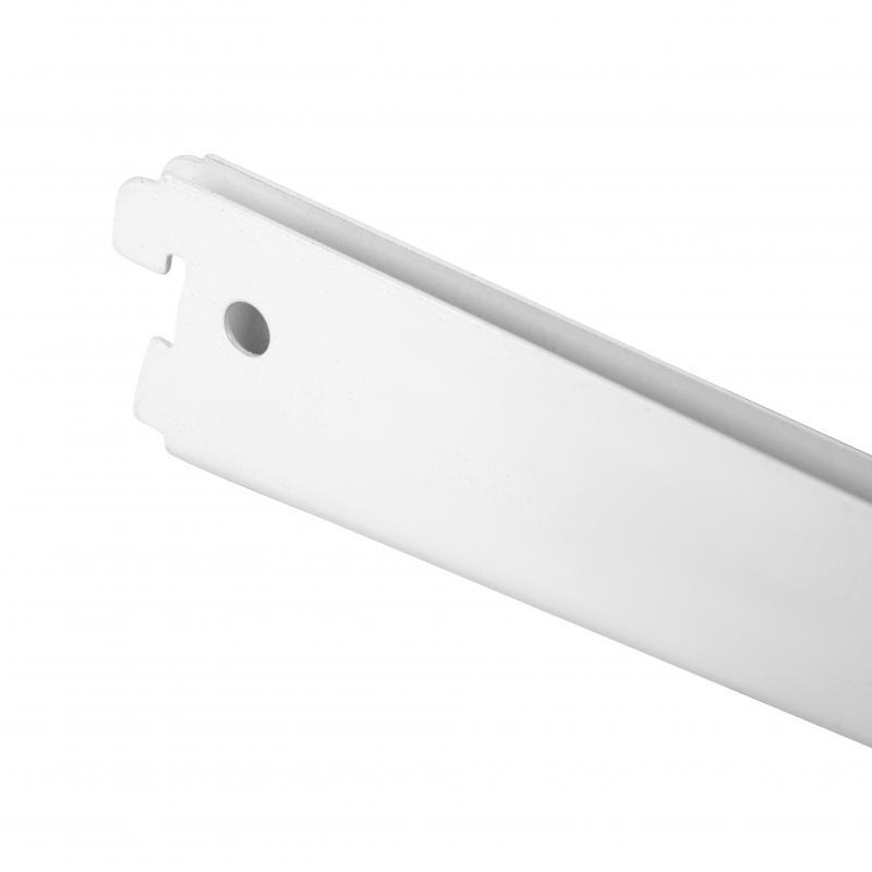 Кронштейн прямой двухрядный 32 см нагрузка до 55 кг цвет белый