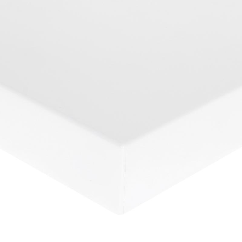 Полка для ванной комнаты 40х20 см цвет белый матовый