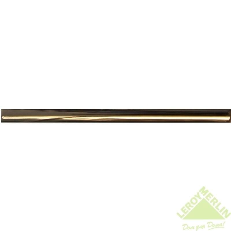 Карандаш I, цвет золотой, 40х1,2 см
