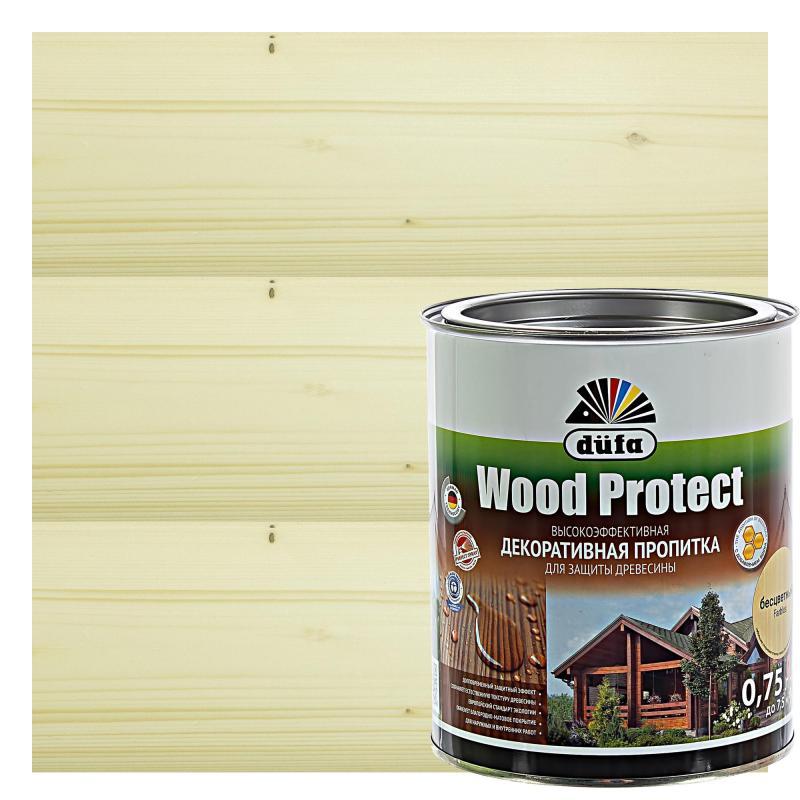 Антисептик Wood Protect прозрачный 0.75 л