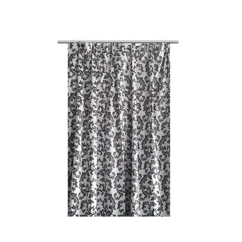 Штора на ленте «Патада» 200х260 см цвет серый
