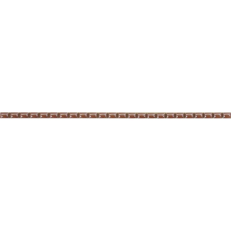 Бордюр «Капсула люстрированная» 7х250 мм цвет розовый