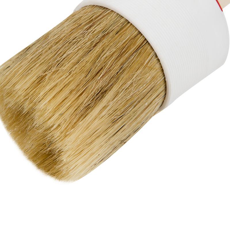 Кисть с натуральной щетиной круглая 60 мм
