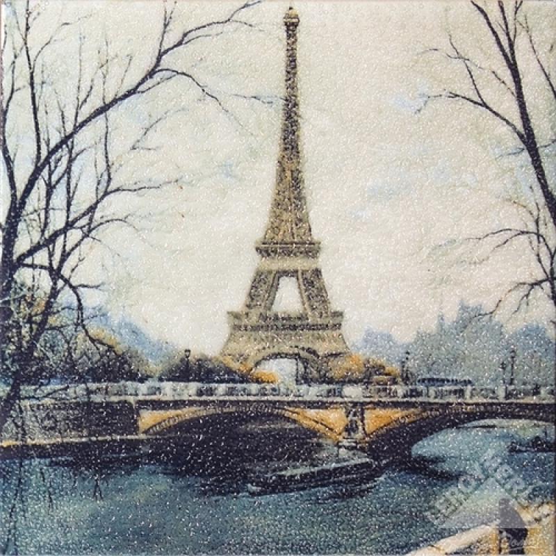 Декор Эйфелева башня 20x20 см