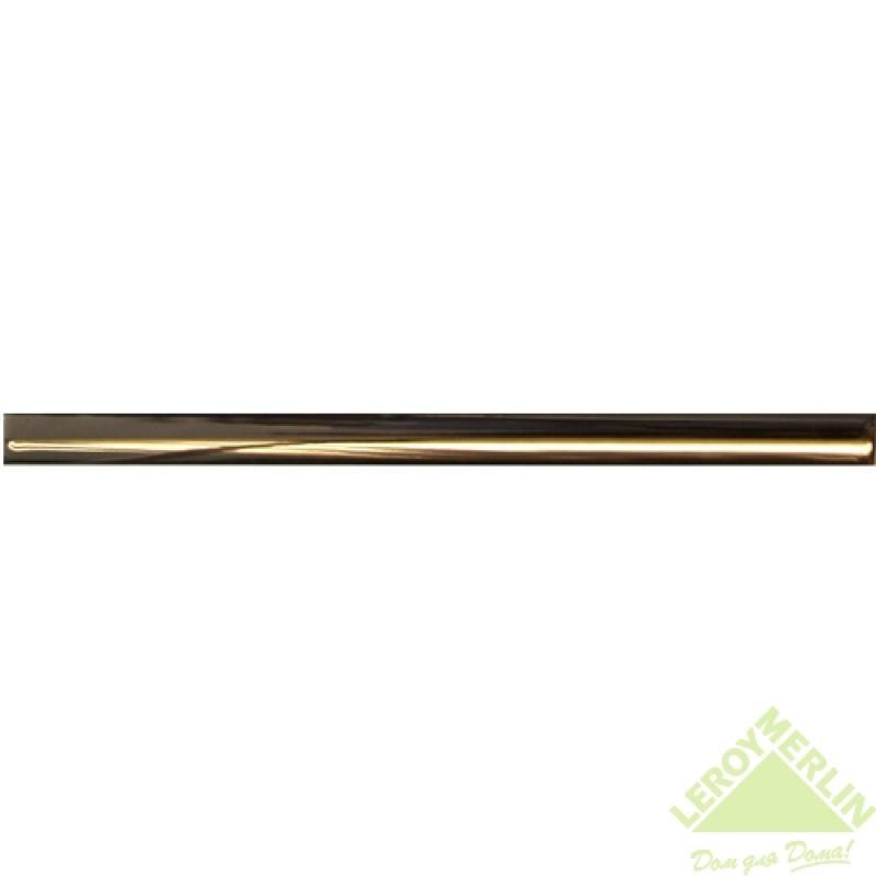 Карандаш I, цвет золотой, 30х1,2 см