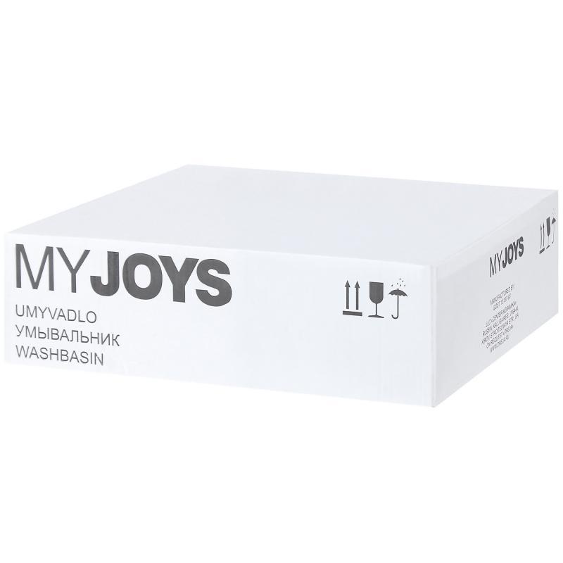Раковина «Джой», 39 см, эмалированная керамика, цвет белый