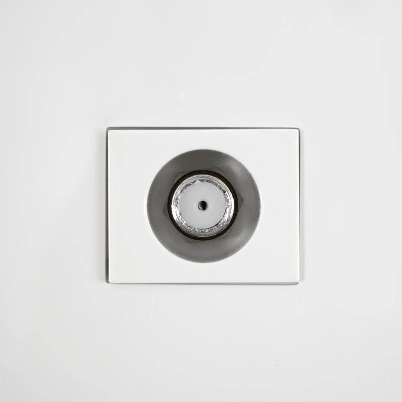 ТВ-розетка оконечная встраиваемая Legrand Anam Zunis шлеф, цвет белый