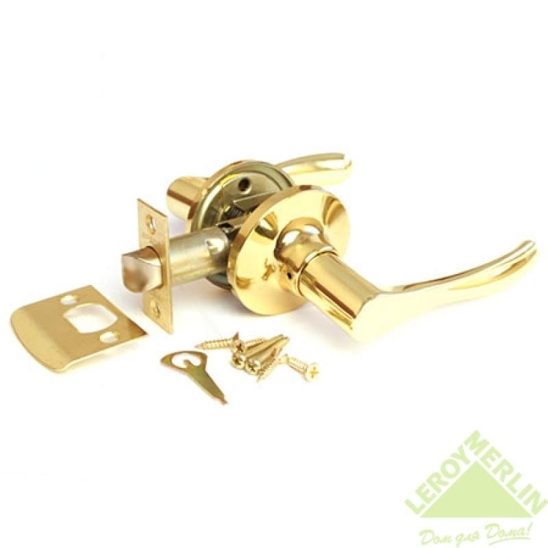 Ручка-защёлка межкомнатная Apecs 8010-05-G (золото)
