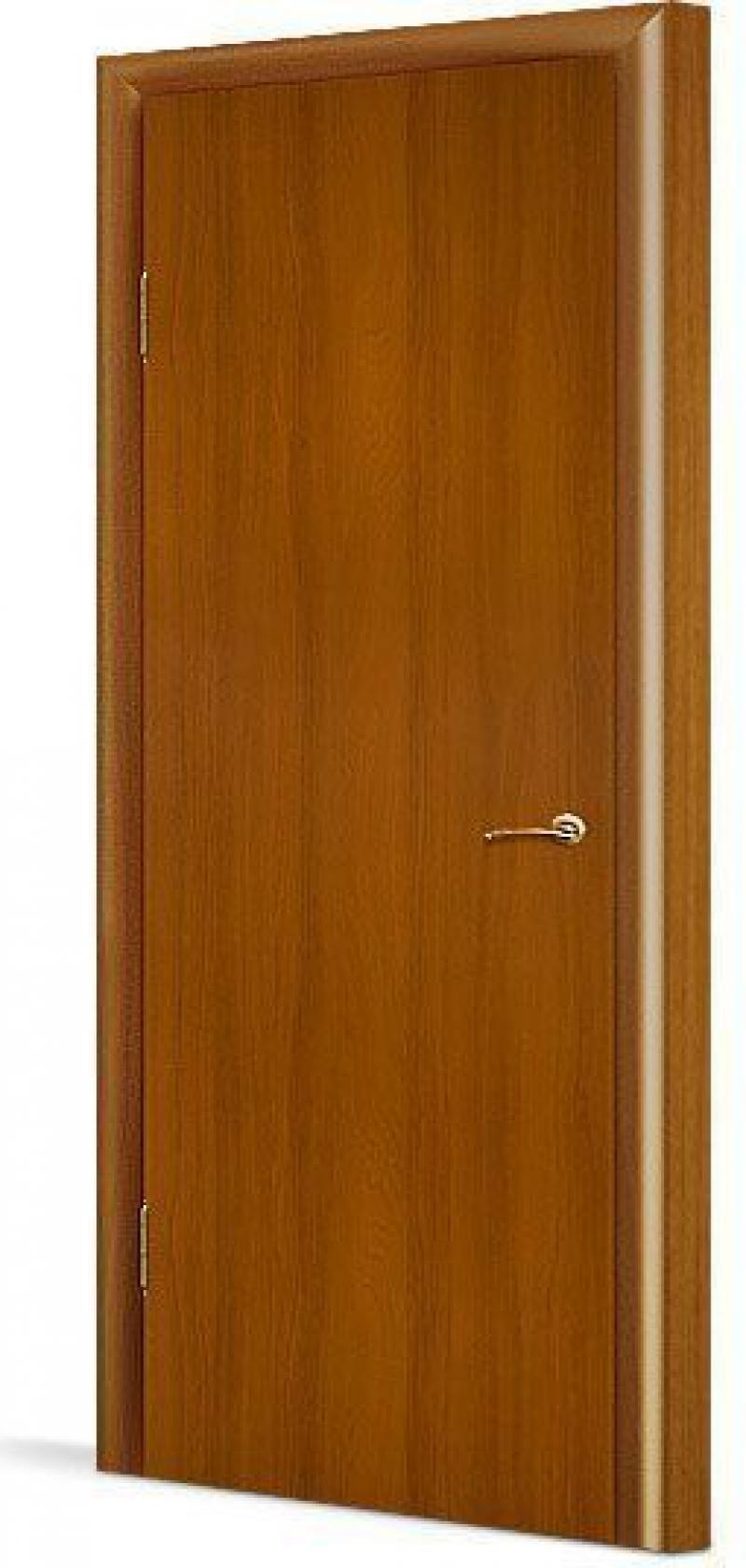 Дверное полотно глухое с четвертью, 800x2000 мм, орех
