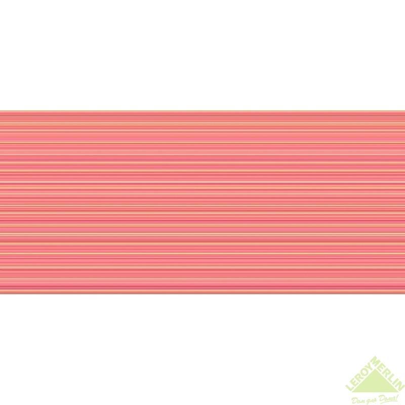 Плитка настенная Sunrise, цвет оранжевый, 20x44 см, 1,05 м2