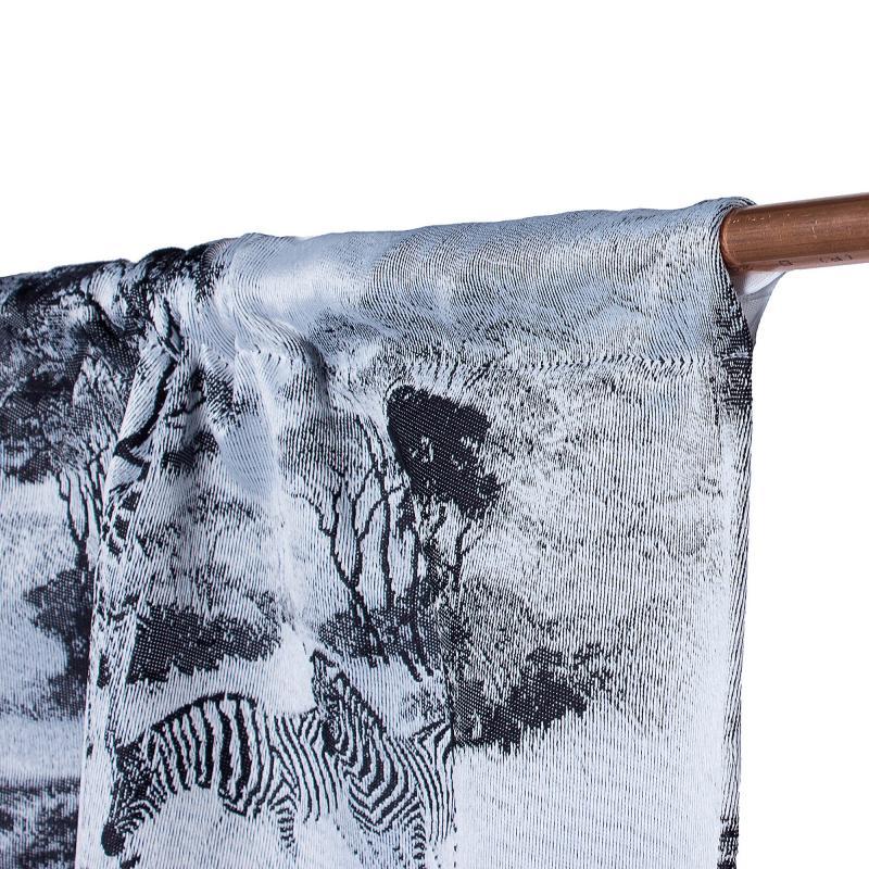 Штора на ленте «Саванна» 145х280 см цвет белый