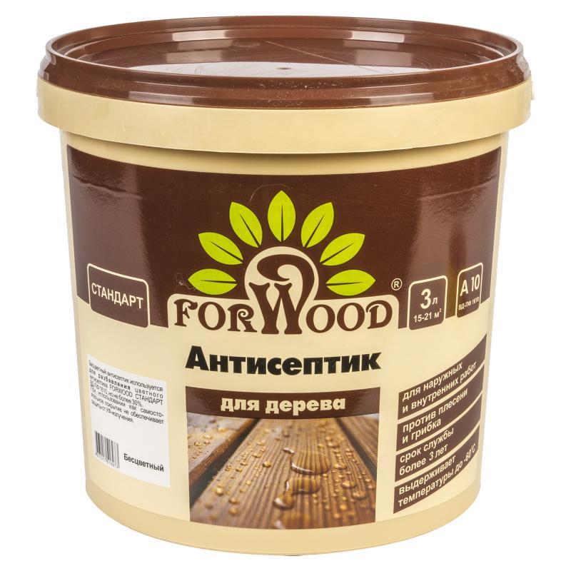 Антисептик Forwood бесцветный 3 л