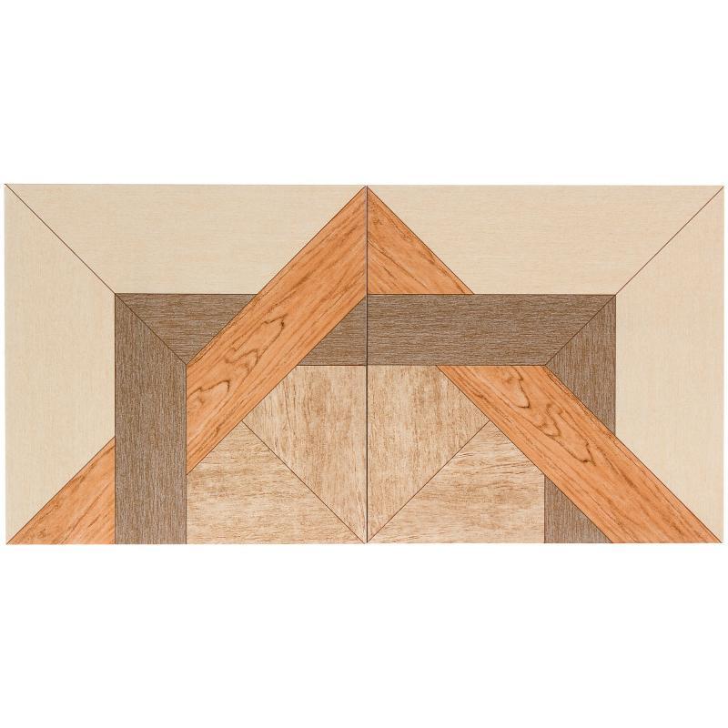 Керамогранит «Рома» 33х33 см 1.307 м2 цвет коричневый