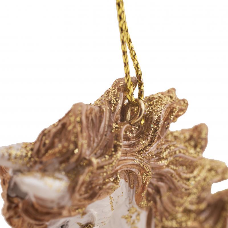 Украшение ёлочное «Единорог», 10 см