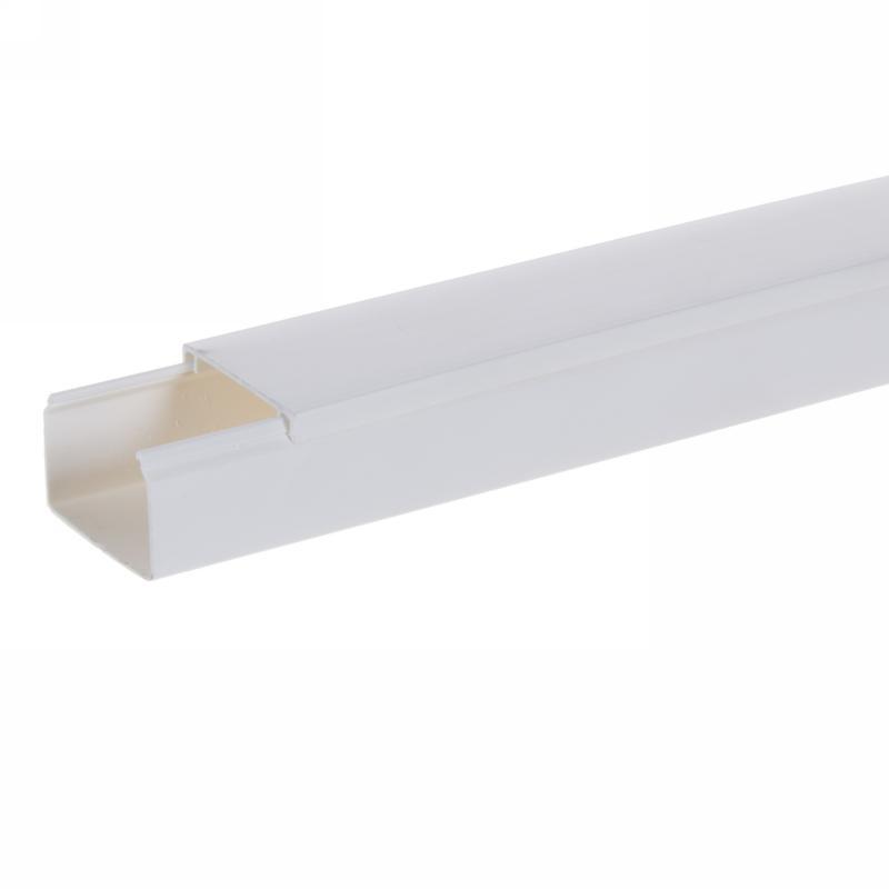 Кабель-канал Экопласт Mex 25х40 мм цвет белый, 2 м