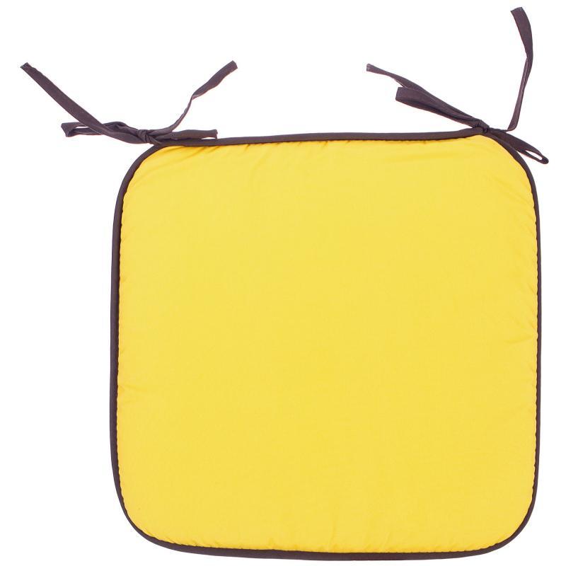 Галета «Тити» 38х38 см цвет жёлтый