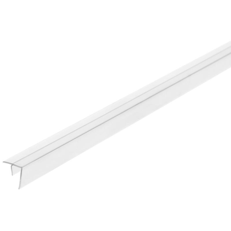 Профиль угловой F-образный для стеновой панели, 60х0.6 см, пластик