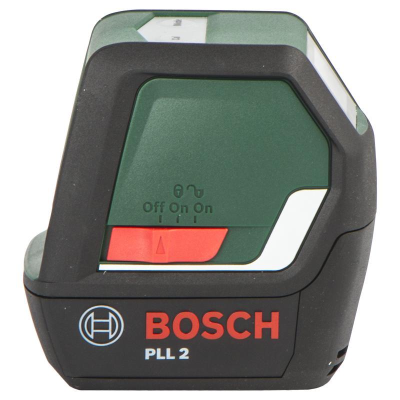 Уровень лазерный Bosch PLL2, дальность до 10 м