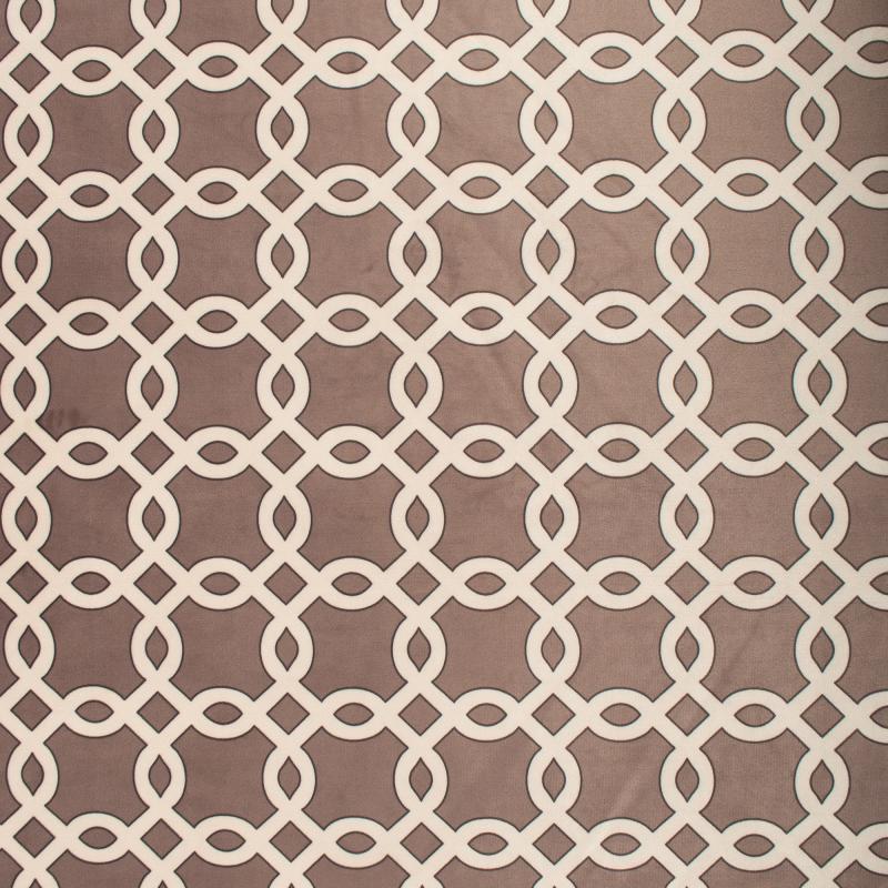Ткань 1 п/м, велюр, 280 см, цвет бежевый