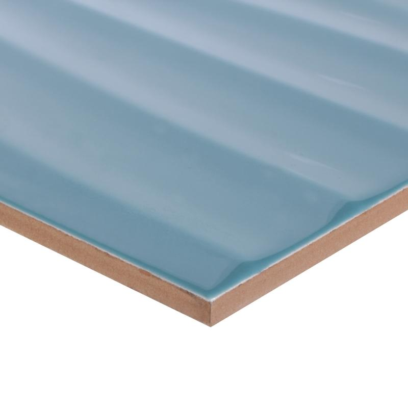 Плитка настенная «Дюна 2Т» 60х30 см 1.8 м2 цвет бирюзовый