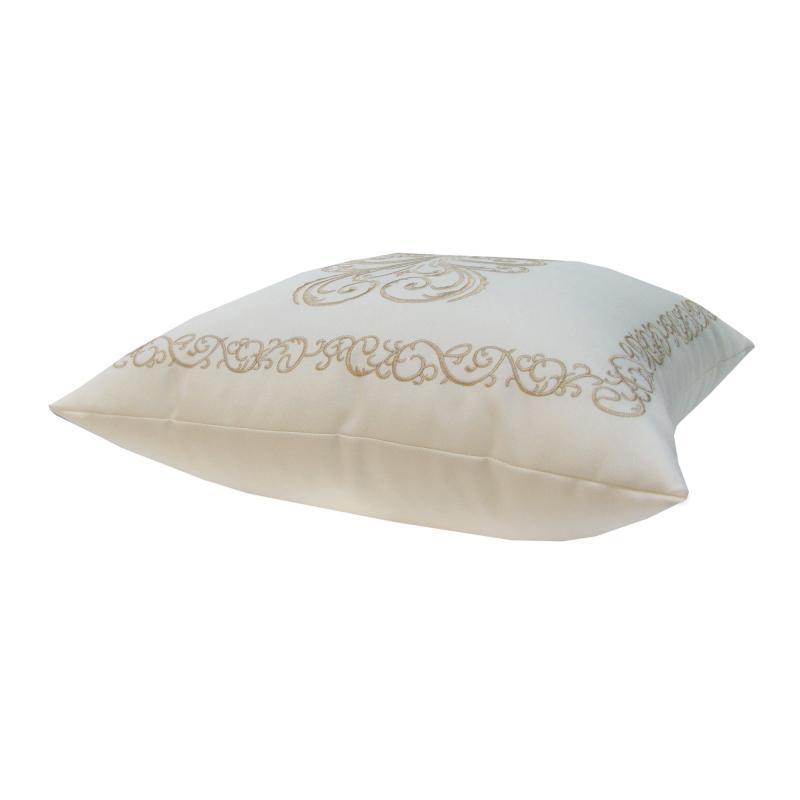 Подушка декоративная «Неоклассика», 40х40 см, цвет экрю
