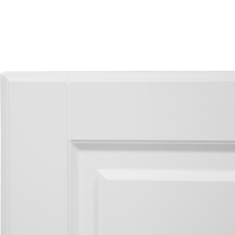 Дверь для шкафа Delinia «Леда белая» 60x70 см, МДФ, цвет белый