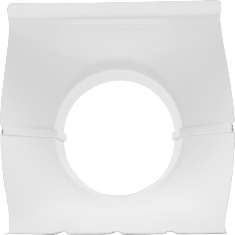 Воронка 125x90 мм цвет белый
