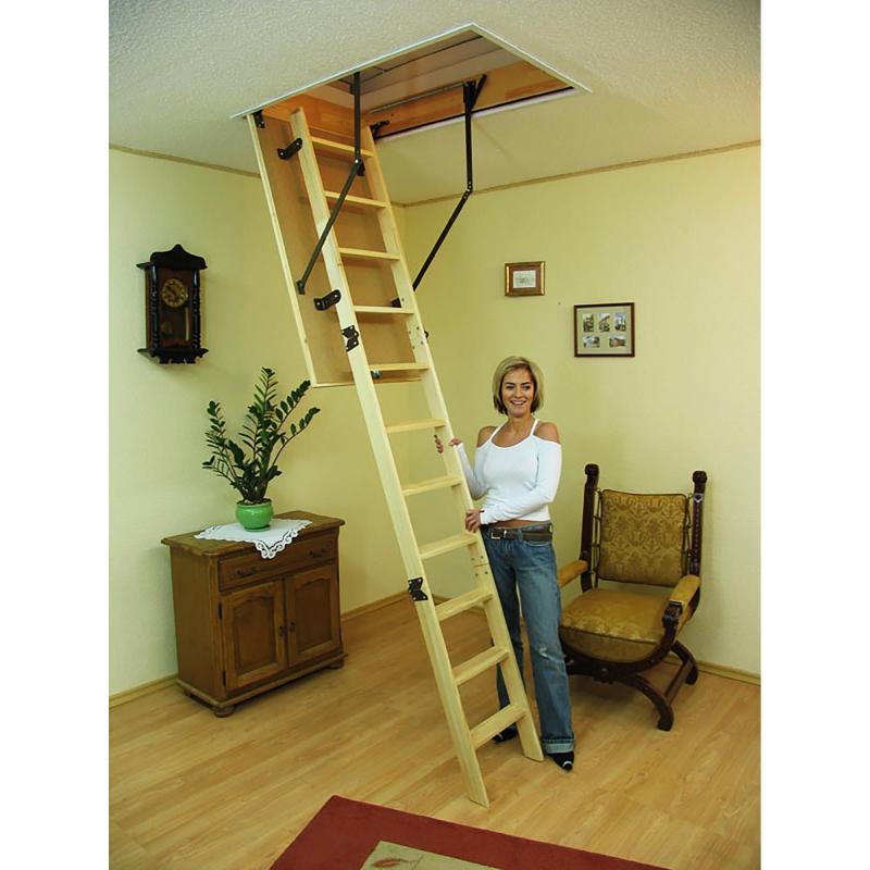 Лестница чердачная Prima 60x120x280 см