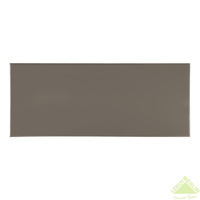 Плитка настенная Aura steel, 20х50 см, 1,1 м2