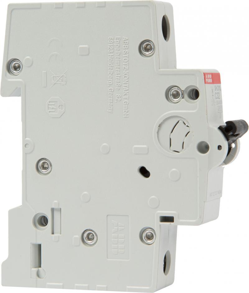 Автоматический выключатель ABB SH201L 1P, 32 А, 4.5 кА, C, 2CDS241001R0324