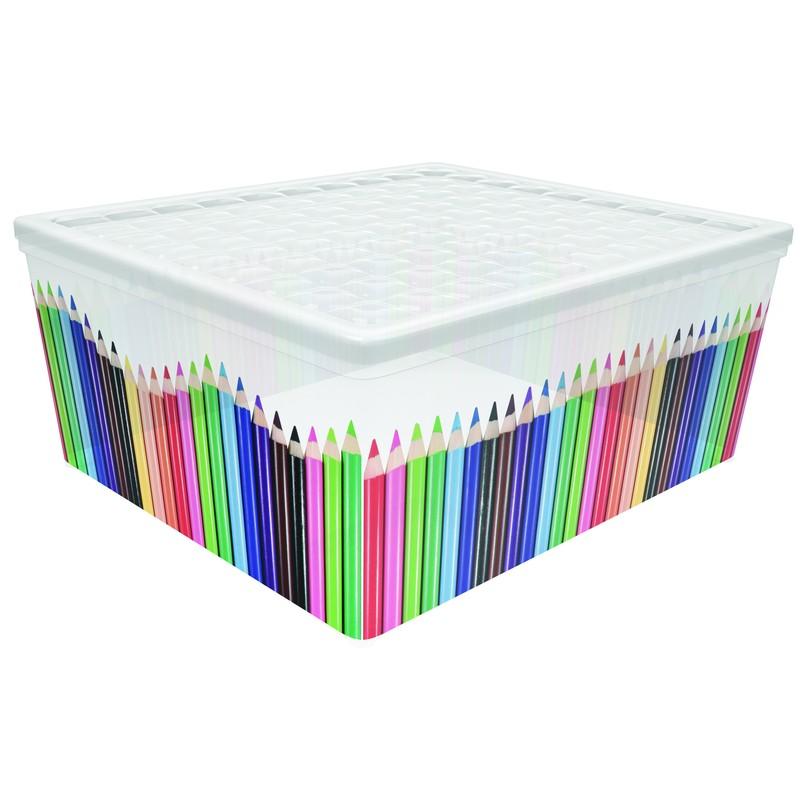 Контейнер Curver Textille карандаши, 18,5 л