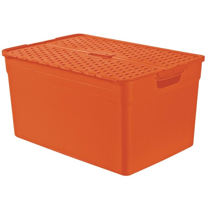 Контейнер Curver Pixxel оранжевый 30 л